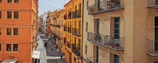 O strada obisnuita din Valencia